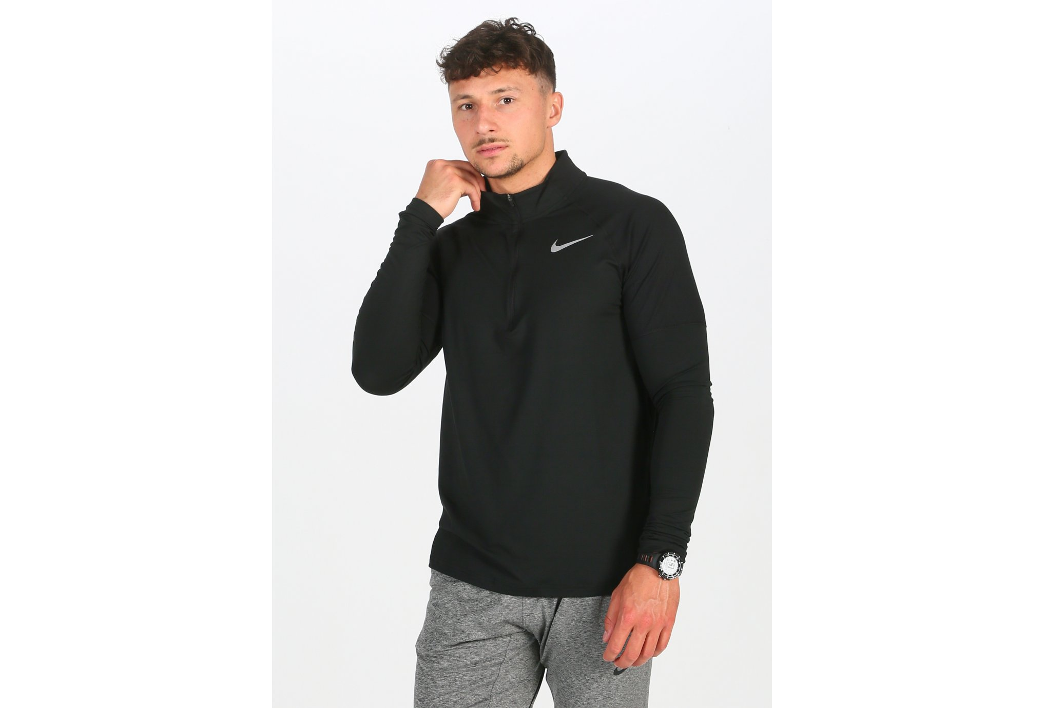 Nike Element Half Zip M vêtement running homme