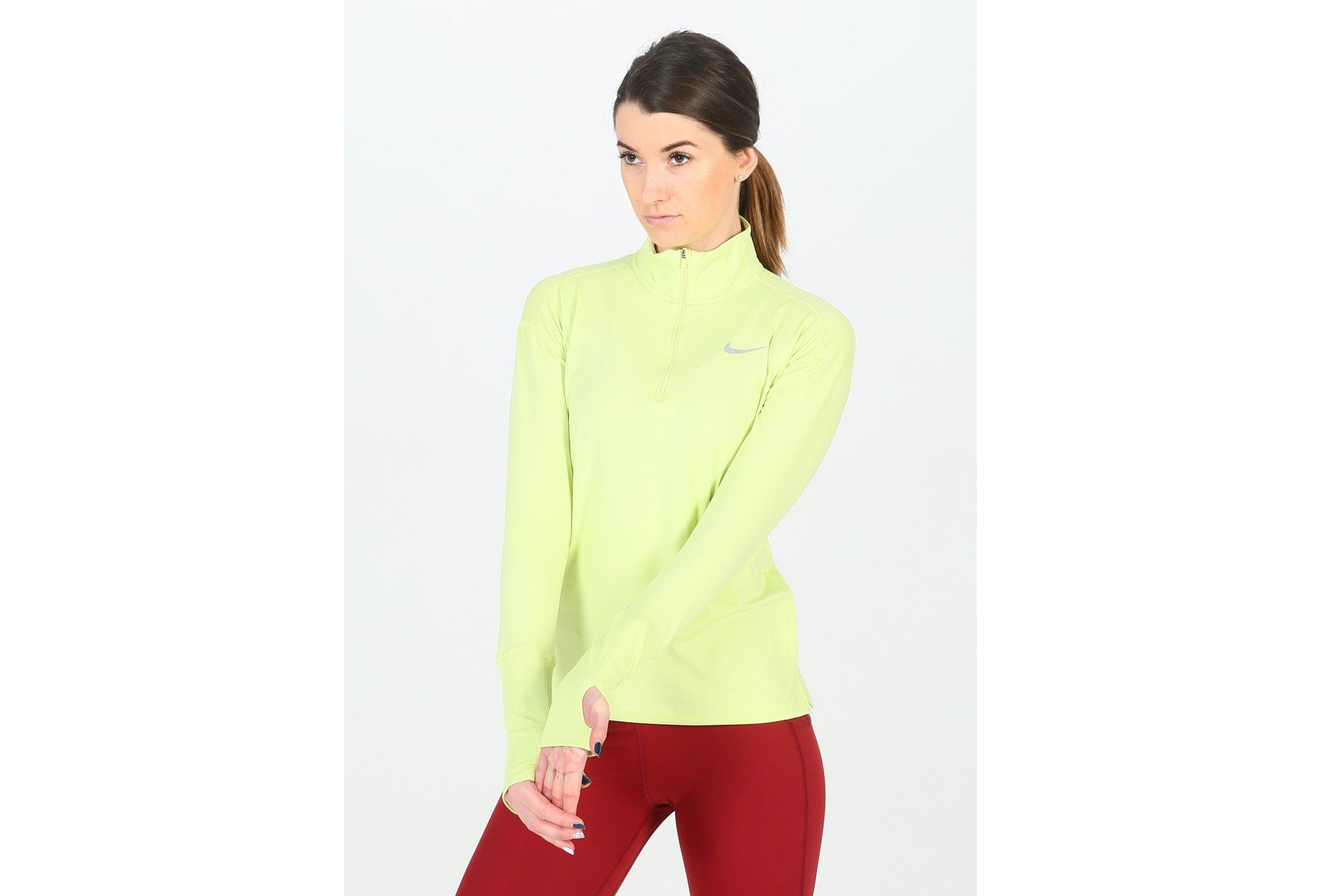 Nike Element Half Zip W vêtement running femme