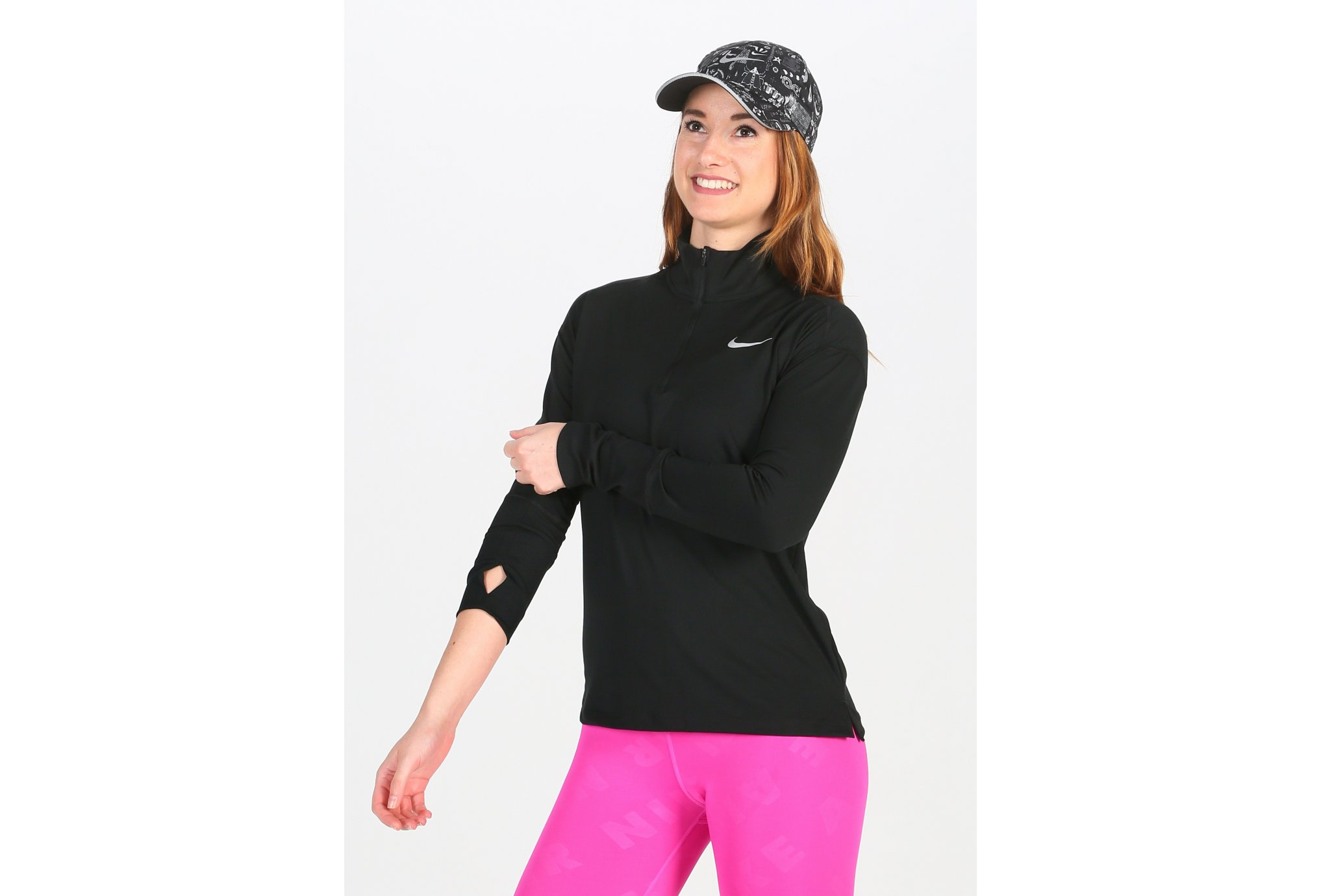 Nike Element Half Zip W vêtement running femme