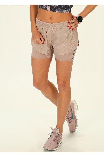Nike Pantalón corto Elevate 2 en 1