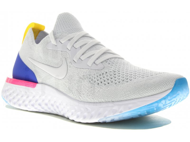 Nike Epic React Flyknit Fille - Chaussures running femme