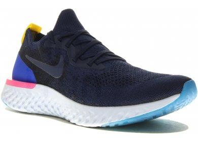 promo code a37c3 c06b9 Nike Epic React Flyknit M homme Bleu marine