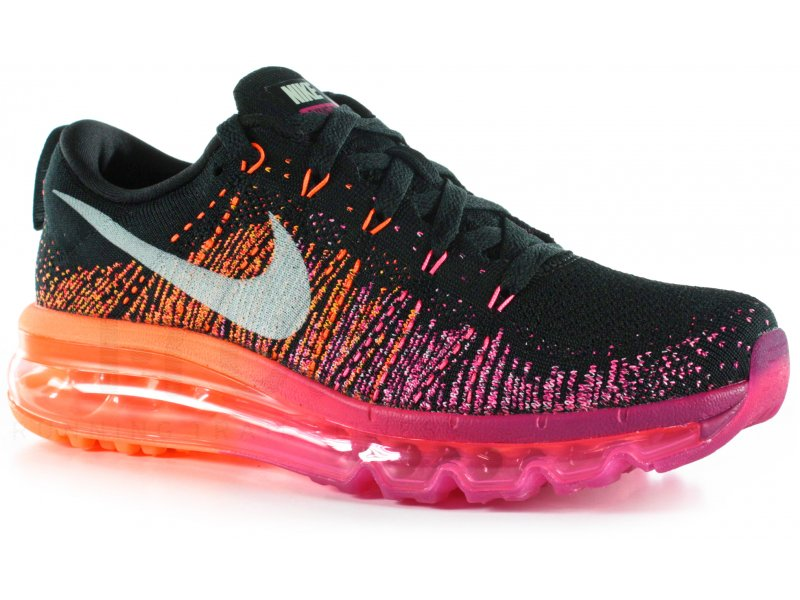 Nike Flyknit Air Max W - Chaussures running femme Route & chemin
