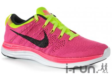 Nike Flyknit Lunar1+ W femme pas cher Chaussures running femme W running 7da824