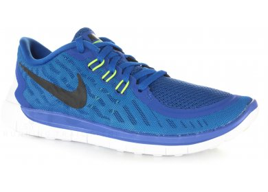 Nike Free 5.0 Junior homme Bleu pas cher