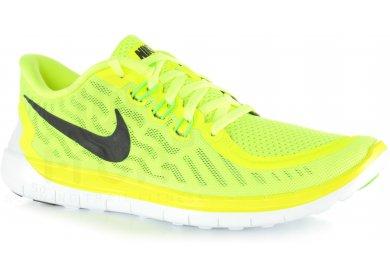 nike free run 4 homme jaune