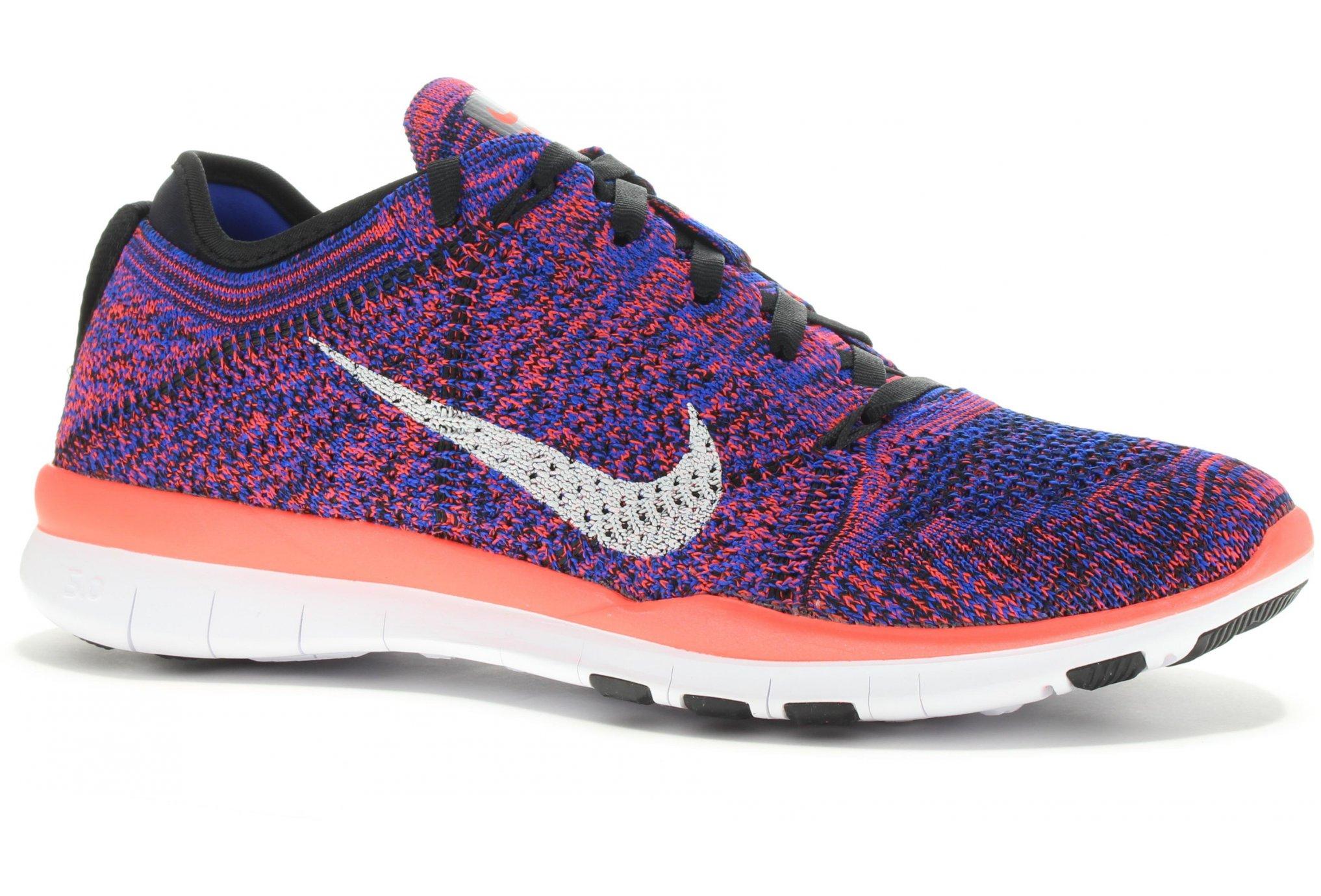 1a6c60d415 Nike Free 5.0 TR Flyknit W femme Rouge pas cher