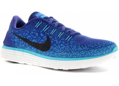2b004eb7428 Nike Free RN Distance M homme Bleu pas cher