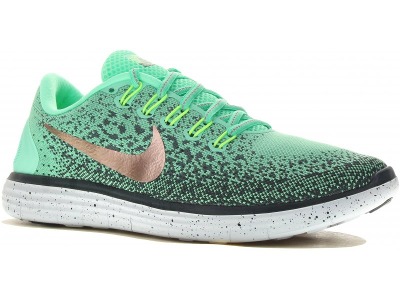 reputable site a47e7 93c9f ... Nike Free RN Distance Shield W pas cher - Destockage running Chaussures  femme en promo . ...