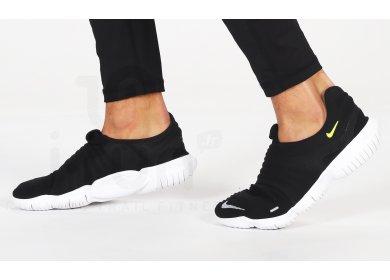 Nike Free RN Flyknit 3.0 M homme Noir pas cher