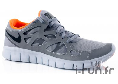 Nike Free Run + 2 Shield pas cher Chaussures homme running Route