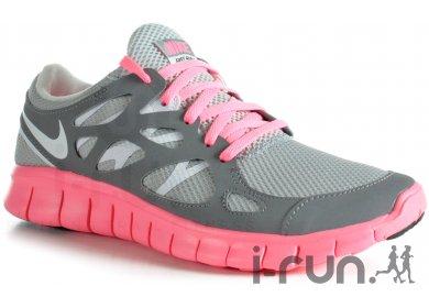 Nike Free Run+2 W W Run+2 pas cher Chaussures running femme running Route ad3494