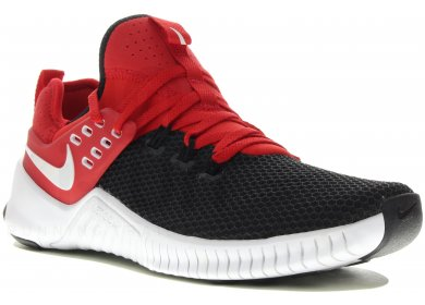Nike Free x Metcon M homme Rouge pas cher 554c4e4a1