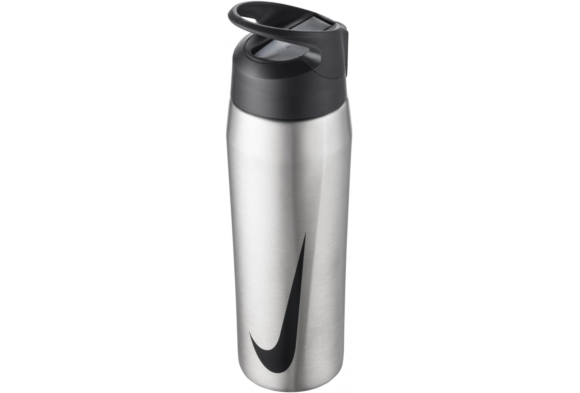Nike Gourde Hypercharge Straw 700 ml Acier Sac hydratation / Gourde