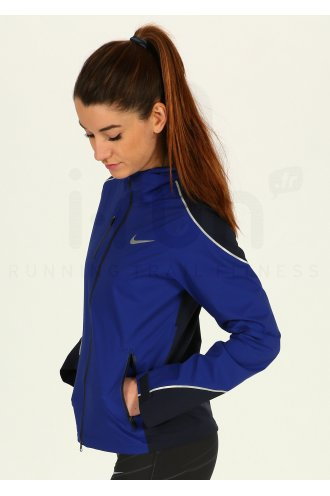 Nike Veste Shield Impossibly Light W femme Bleu pas cher