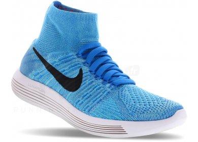 the best attitude 448d7 1c731 Nike LunarEpic Flyknit M homme Bleu pas cher