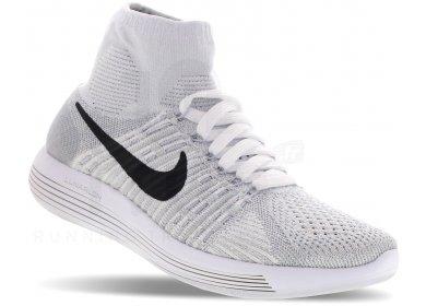the best attitude 4e467 72ab0 Nike LunarEpic Flyknit W femme Blanc pas cher
