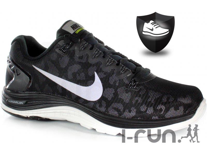 Nike Lunarglide+ 5 Shield W pas cher Chaussures running femme