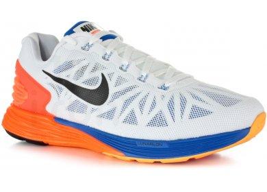 Nike Lunarglide 6 M homme Blanc pas cher