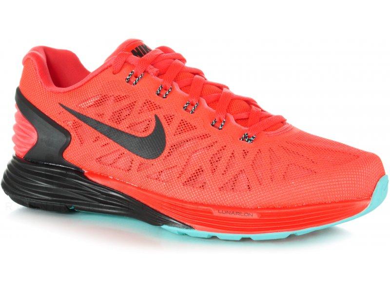 watch e6240 494f9 Nike Lunarglide 6 W femme Orange pas cher
