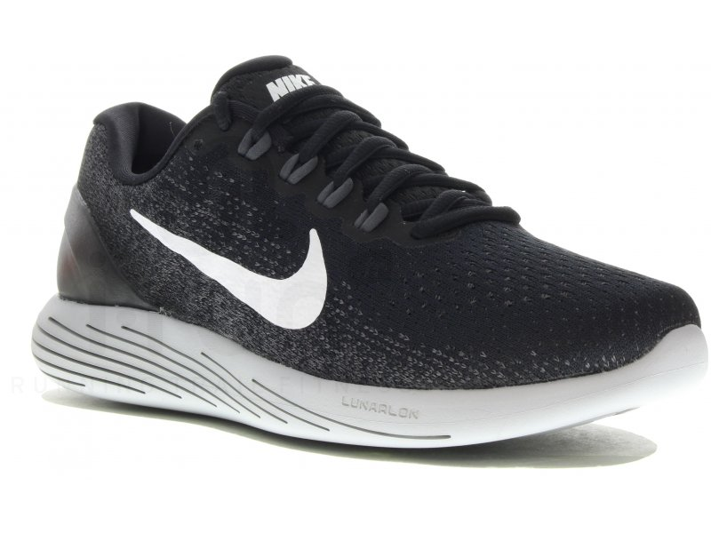 separation shoes 0fc96 f1407 Nike Lunarglide 9 W femme Noir pas cher