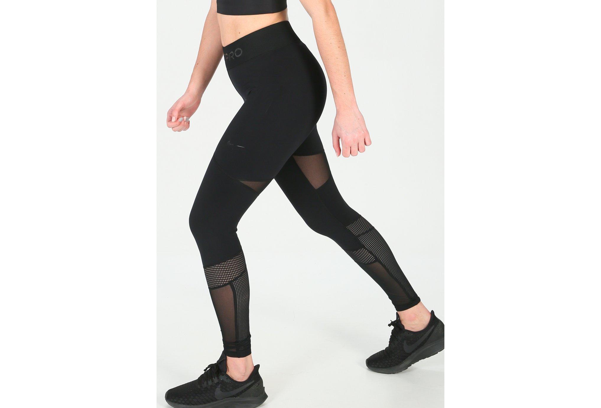 Nike Luxe Mesh Mix W vêtement running femme