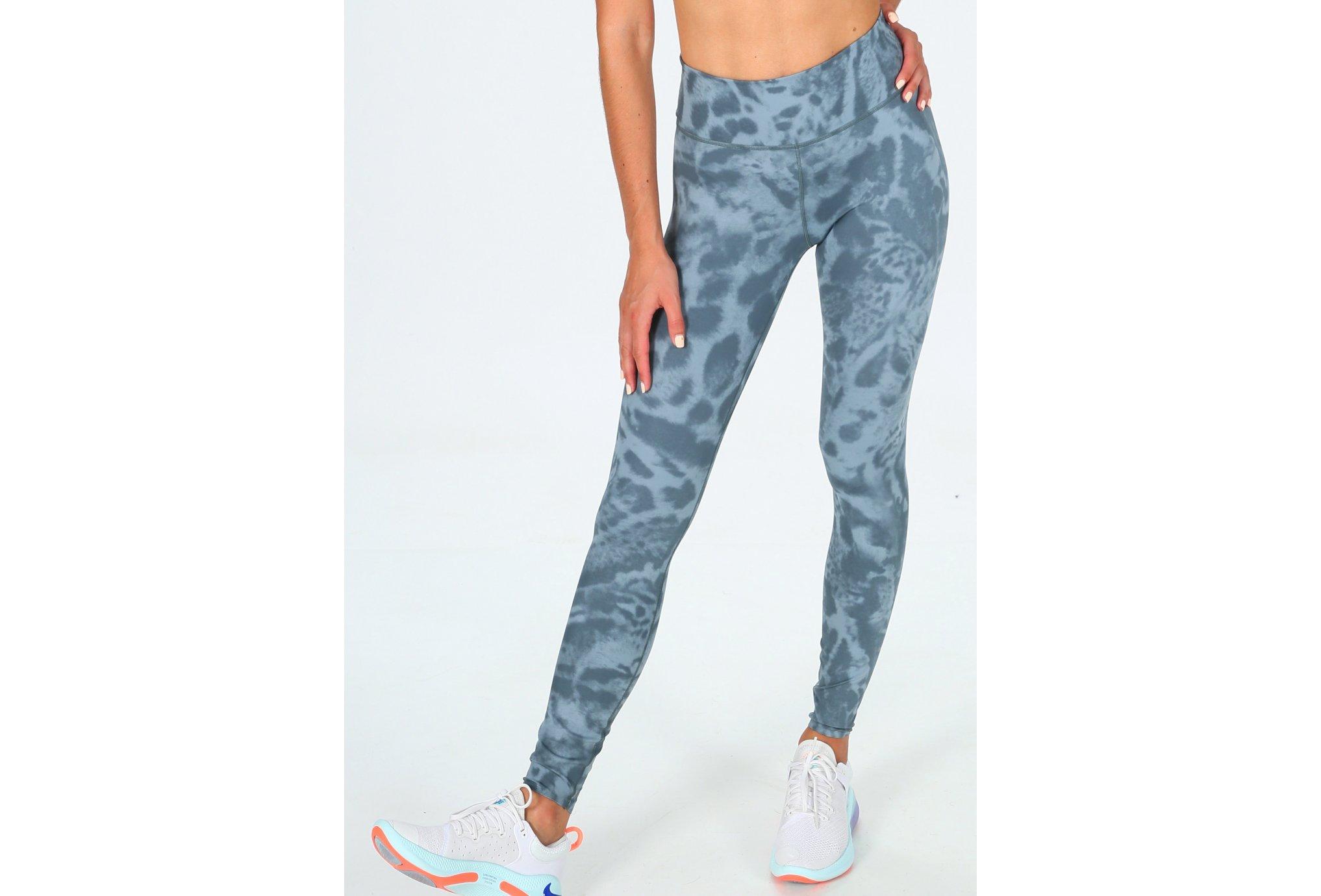 Nike One Luxe Printed 7/8 W Diététique Vêtements femme