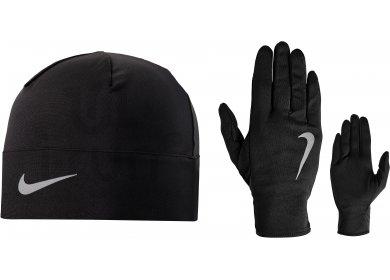 Nike Pack bonnet + gants Dry M pas cher - Accessoires running ... 68da6ee19e6