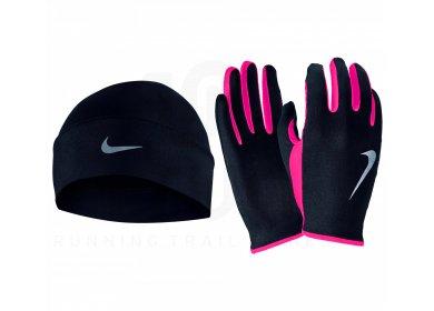 Nike Pack bonnet + gants Dry W