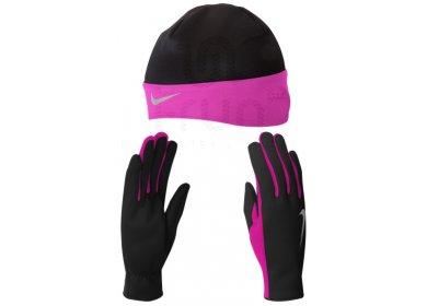 Nike Pack Bonnet + Gants Dri-Fit W - Accessoires running Bonnets ... 707ffe1d05c