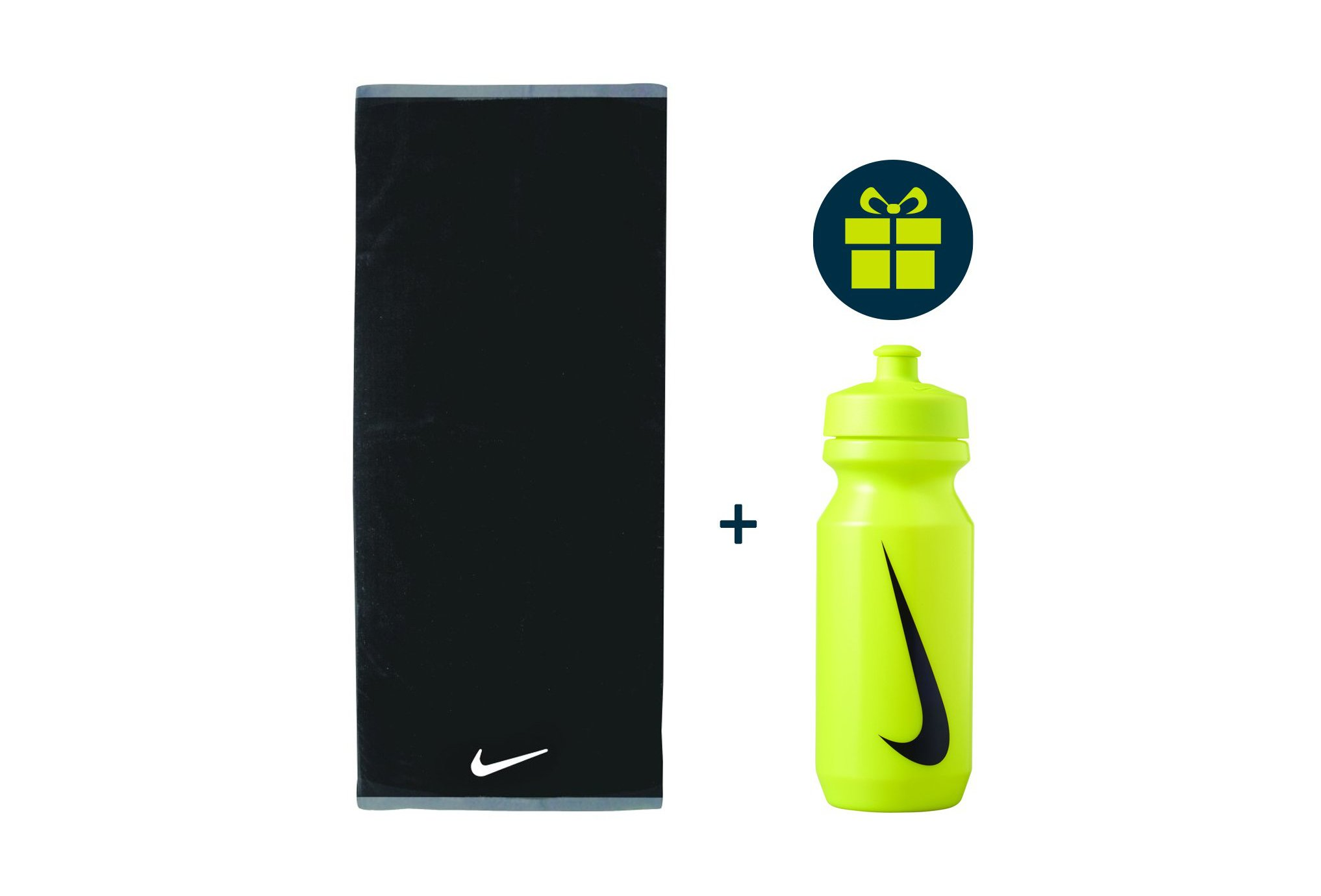 Nike Pack Fundamental Towel - L + Big Mouth 2.0 650mL Training
