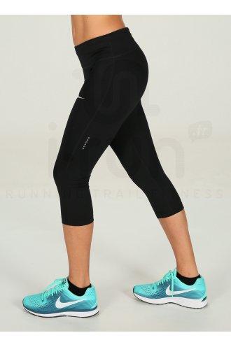 exclusive deals special for shoe on sale Nike Power Essential Running Capri W femme Noir pas cher