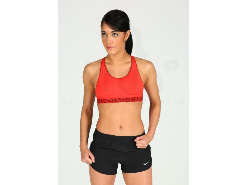 super popular 74d2e 7b5d2 Nike Pro Brassière Fierce Palm Print W pas cher - Destockage running  Vêtements femme en promo