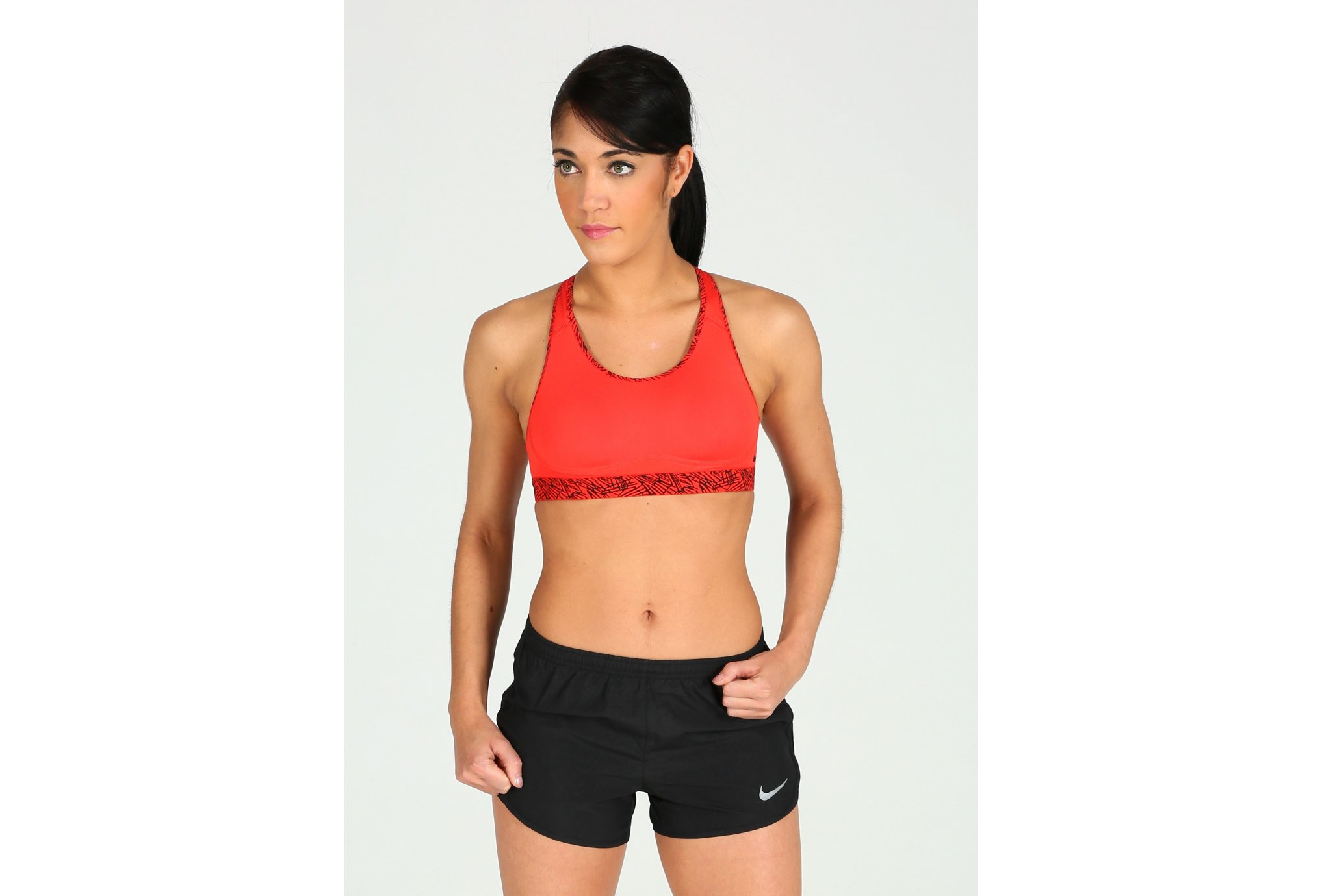 Nike Pro Brassière Fierce Palm Print W Diététique Vêtements femme