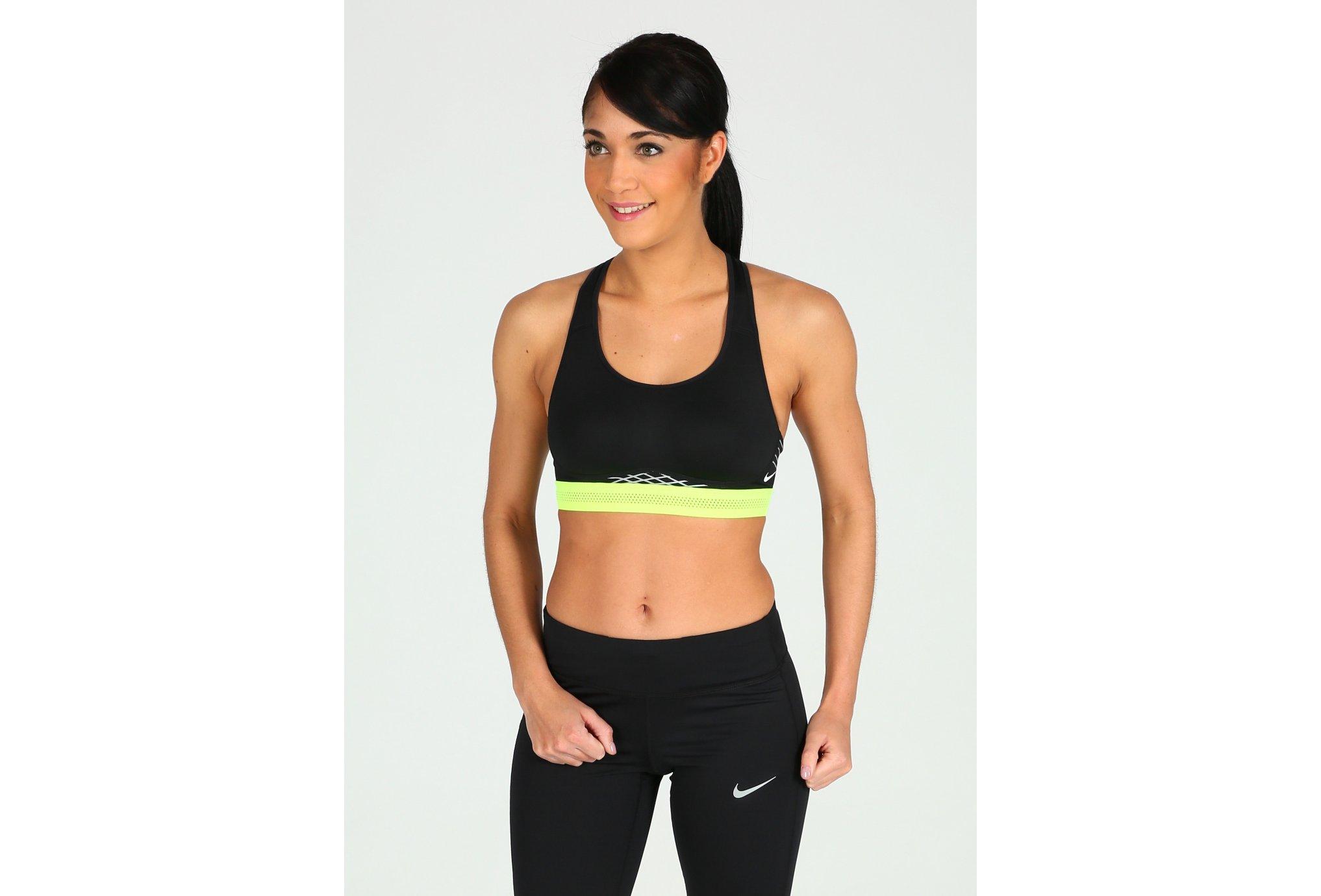 Nike Pro Brassière Fierce Reflective W Diététique Vêtements femme