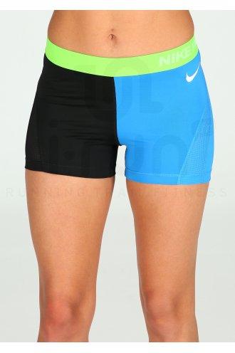 Nike Pro Cuissard court Hypercool ColorBlock W pas cher - Destockage ... 058e76df58a