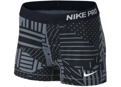 Nike Pro Cuissard court Patchwork 7.5cm W pas cher - Destockage ... d132cd1e22e