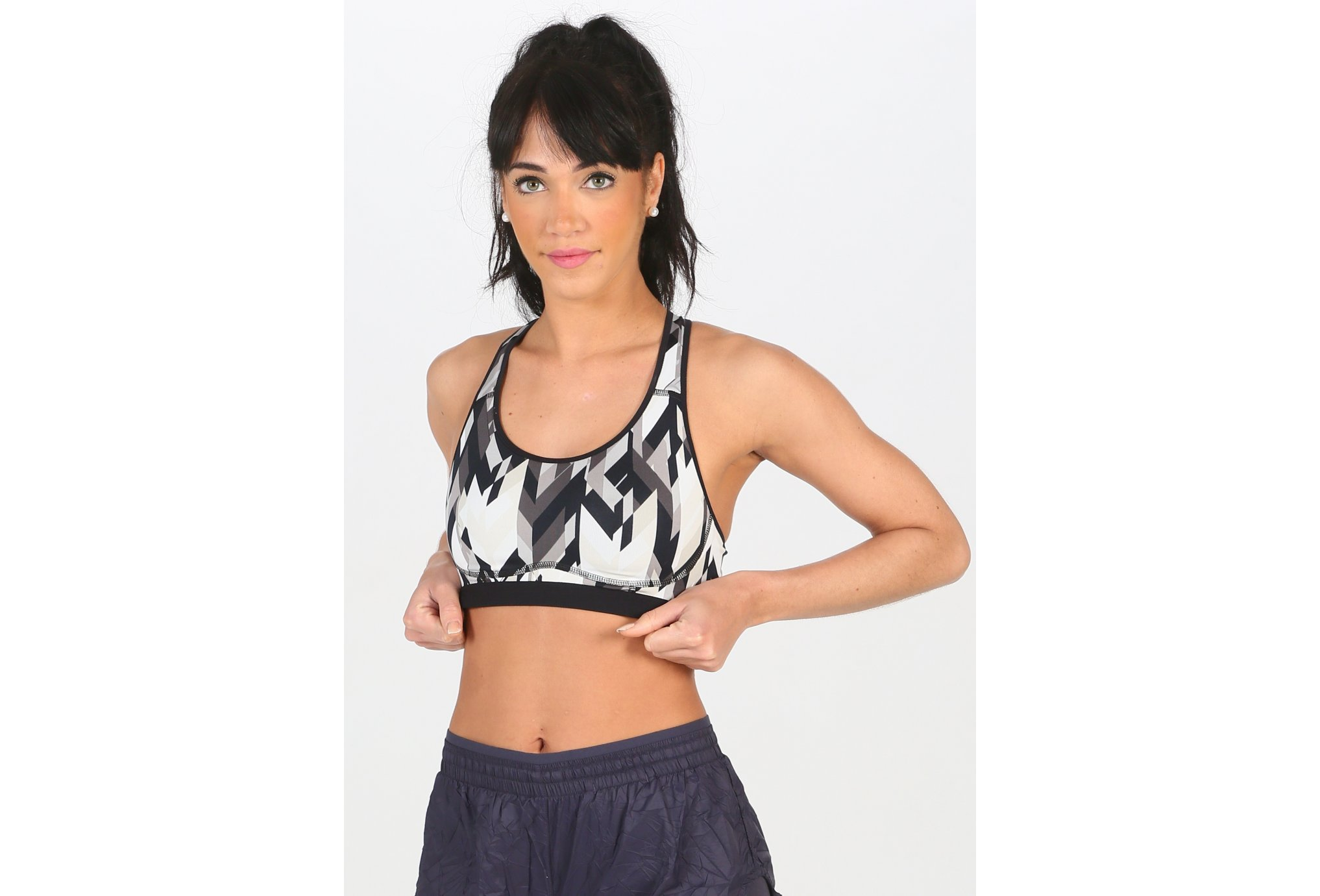 Nike Pro Fierce Geo Prism W Diététique Vêtements femme