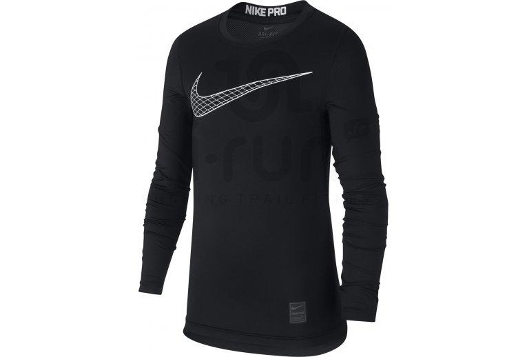 Manga Larga Nike Camiseta Camiseta Nike Manga Larga Pro Pro qqH0BY