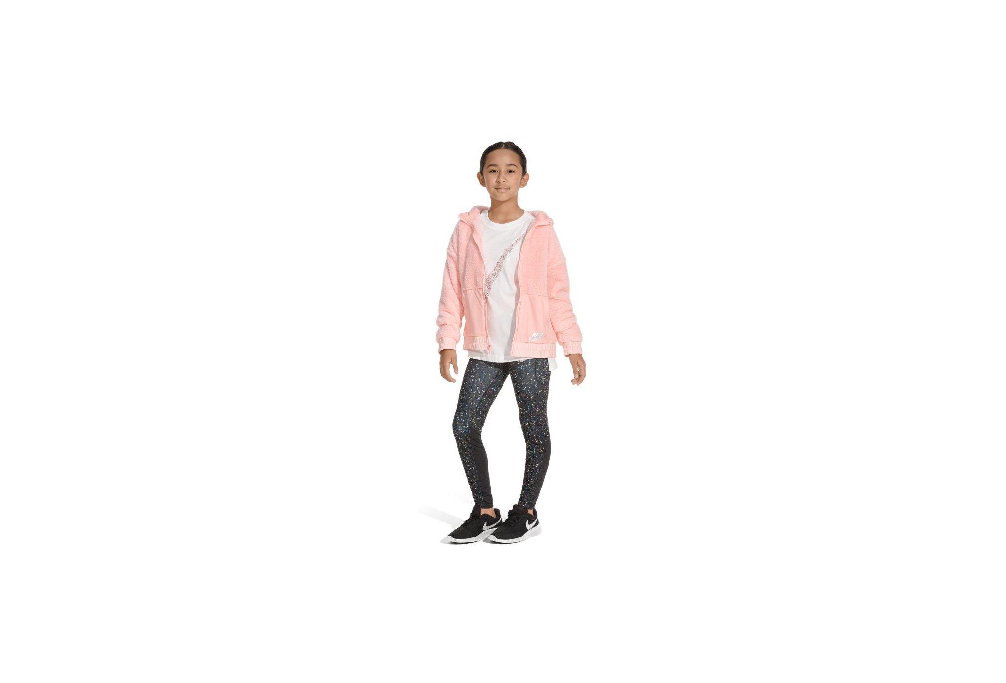 Nike Pro Warm Printed Fille vêtement running femme