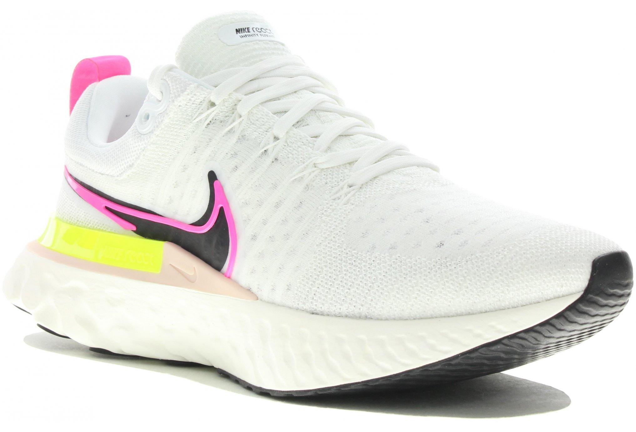 Nike React Infinity Run Flyknit 2 Rawdacious W Chaussures running femme