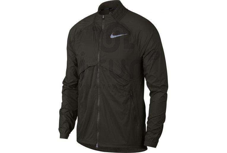 negro Ewell Moral  Nike Chaqueta Shield Convertible en promoción | Hombre Ropa Chaquetas Nike