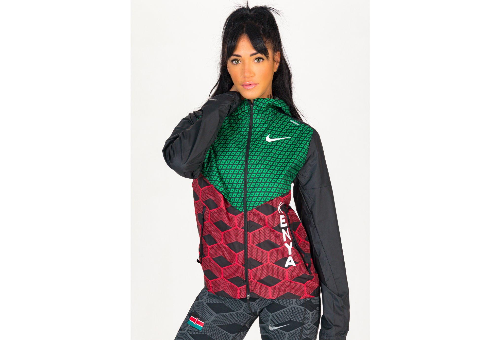 Nike Shieldrunner Team Kenya W vêtement running femme