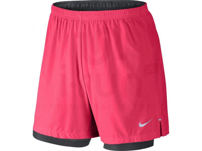 Nike Short Phenom 12.5cm 2 IN 1 M Vêtements homme Shorts cuissards