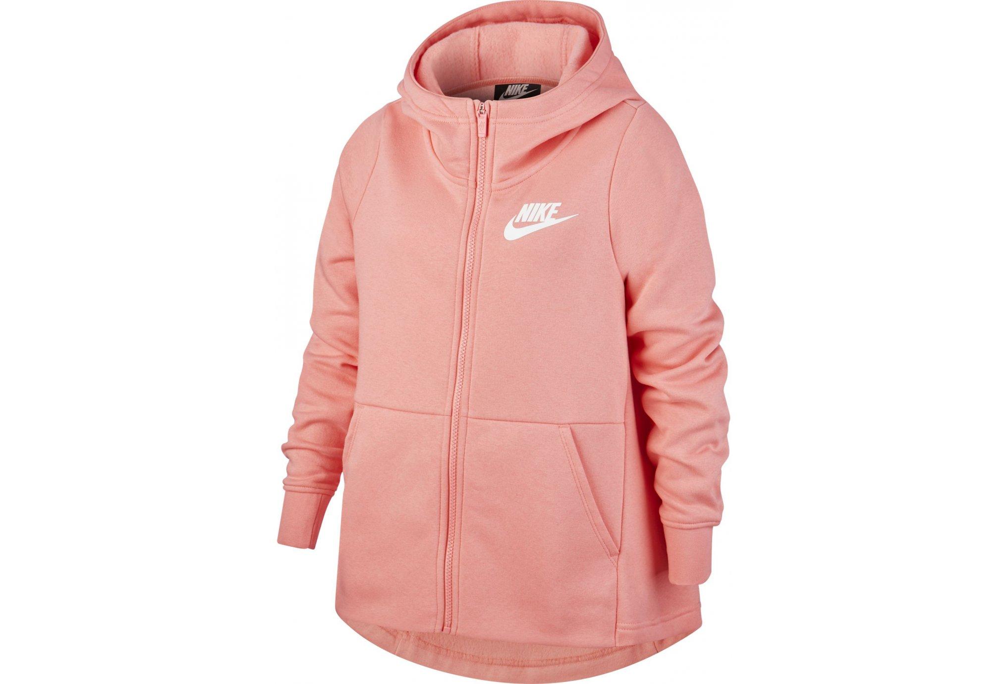 Nike Sportwear Hoodie Fille vêtement running femme