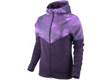 548ae43146048 Nike Sweat-shirt à capuche zippé Fanatic W femme pas cher