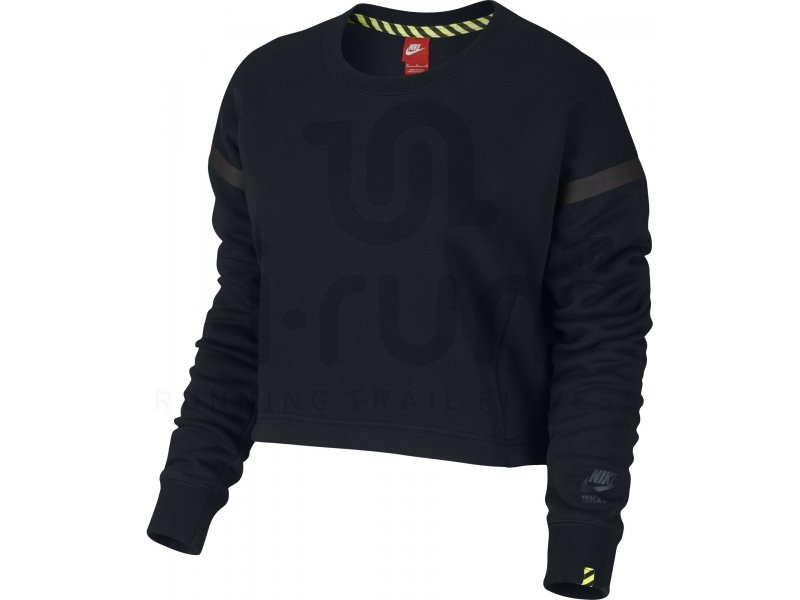 c621c9764538 Nike Sweat Track and Field Cropped W femme Noir pas cher