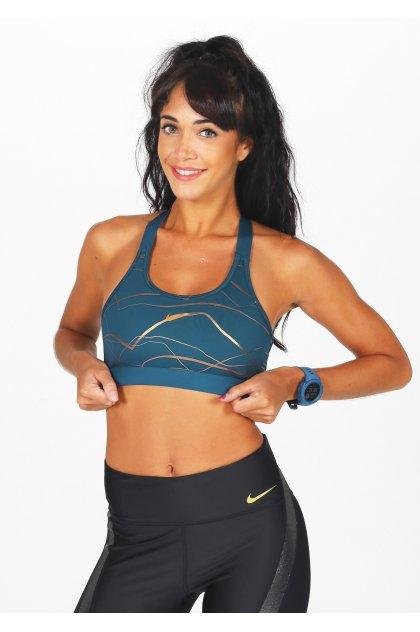 Nike Sujetador deportivo Swoosh Icon Clash