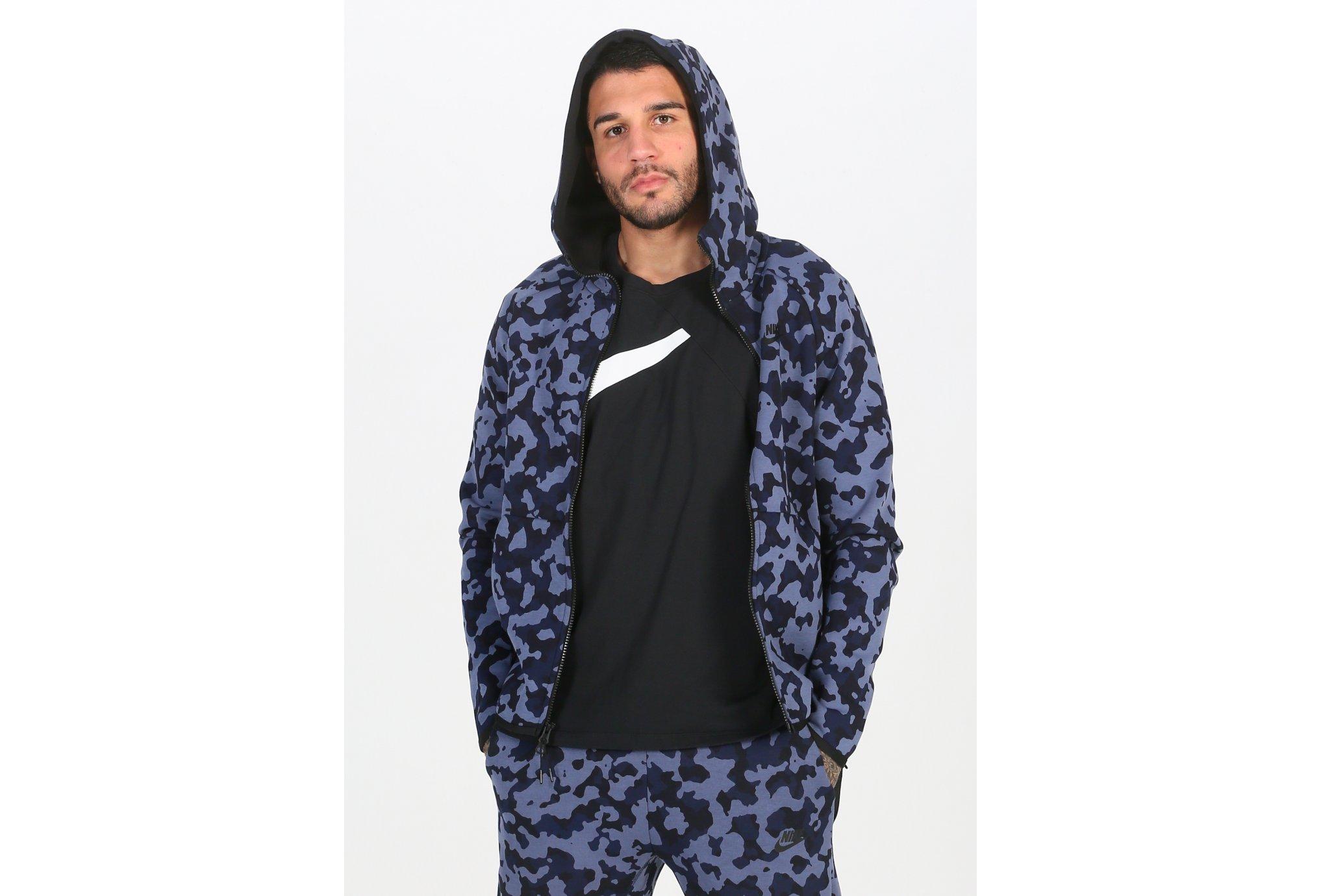 Nike Tech Fleece Hoodie AOP M vêtement running homme