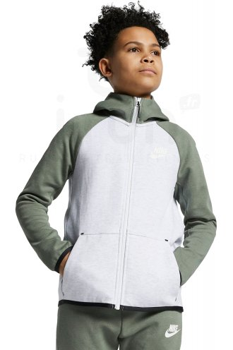 Nike Tech Fleece Junior homme Blanc pas cher